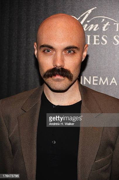 Director David Lowery attends the Downtown Calvin Klein with The Cinema Society screening of IFC Films' Ain't Them Bodies Saints at the Museum of...