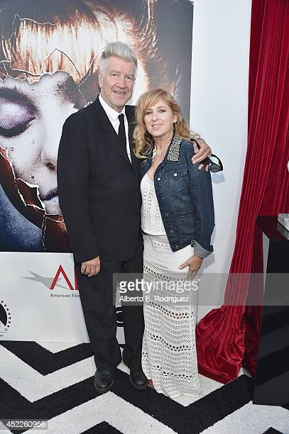 Director David Lynch and actress Kimmy Robertson arrive to The American Film Institute Presents 'Twin PeaksThe Entire Mystery' BluRay/DVD Release...