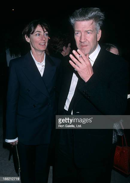 Director David Lynch and Mary Sweeney attend 27th Annual Los Angeles Film Critics Awards on January 22, 2002 at Casa Del Mar Hotel in Sana Monica,...