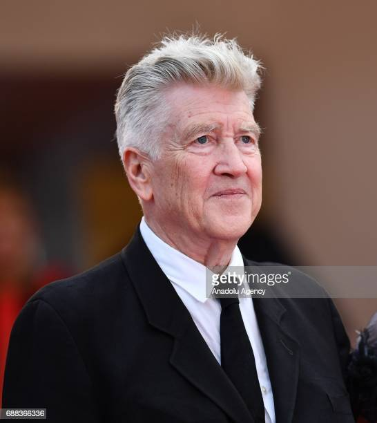 US director David Lynch arrives for the screening of the film Twin Peaks at the 70th annual Cannes Film Festival in Cannes France on May 25 2017