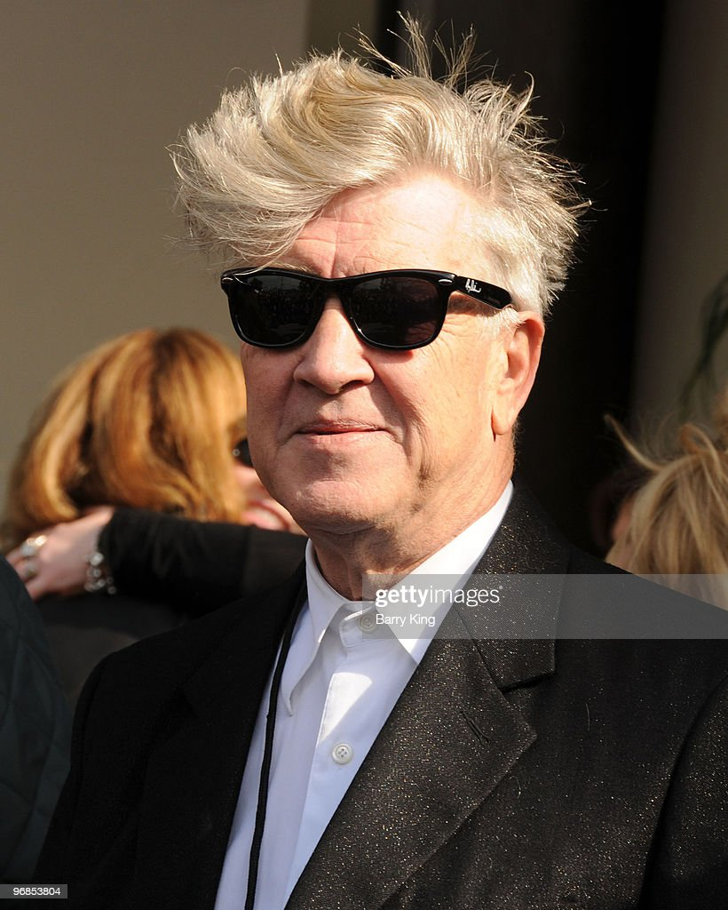 Director David Lynch attends Roy Orbison's induction into the Hollywood Walk Of Fame on January 29, 2010 in Hollywood, California.