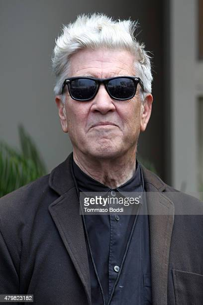 Director David Lynch attends the Ringo Starr's Birthday Fan Gathering on July 7 2015 in Hollywood California