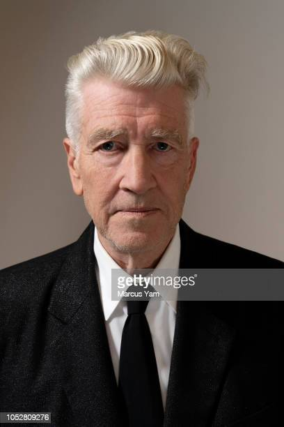 Director David Lynch is photographed for Los Angeles Times on September 7 2018 at the Kayne Griffin Corcoran Gallery in Los Angeles California...