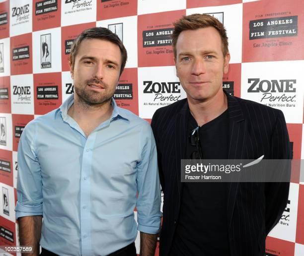 "Director David Michod and actor Ewan McGregor attend the ""Animal Kingdom"" premiere during the 2010 Los Angeles Film Festival at Regal Cinemas at LA..."