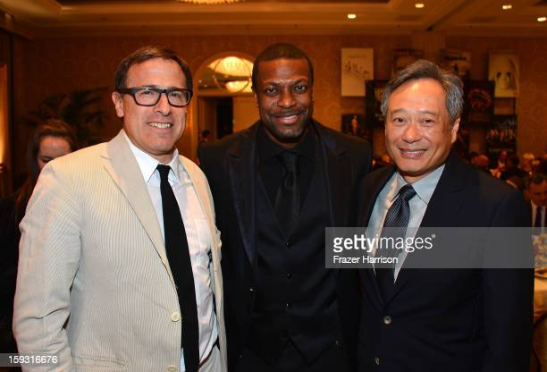 c6a819b3c9 Director David O Russell actor Chris Tucker and director Ang Lee attend the  13th Annual AFI