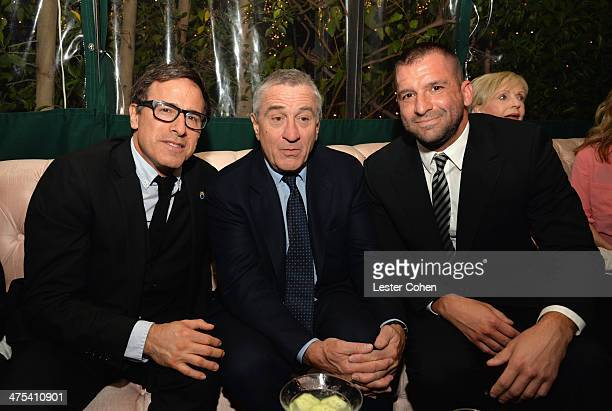Director David O Russell actor Robert De Niro and Senior VP Creative Advertising Sony Pictures Worldwide Marketing and Distribution Division Michael...
