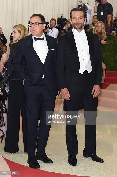 Director David O Russell and actor Bradley Coope attend the 'Manus x Machina Fashion In An Age Of Technology' Costume Institute Gala at Metropolitan...