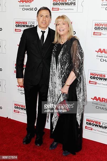 Director David O Russell and actress Diane Ladd attend AARP's 15th Annual Movies For Grownups Awards at the Beverly Wilshire Four Seasons Hotel on...