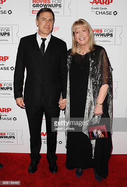Director David O Russell and actress Diane Ladd attend the 15th annual Movies For Grownups Awards at the Beverly Wilshire Four Seasons Hotel on...