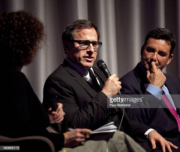Director David O Russell and Dr Bruce Hensel speak at Museum Of Tolerance Town Hall Meeting With Silver Linings Playbook Director David O Russell on...