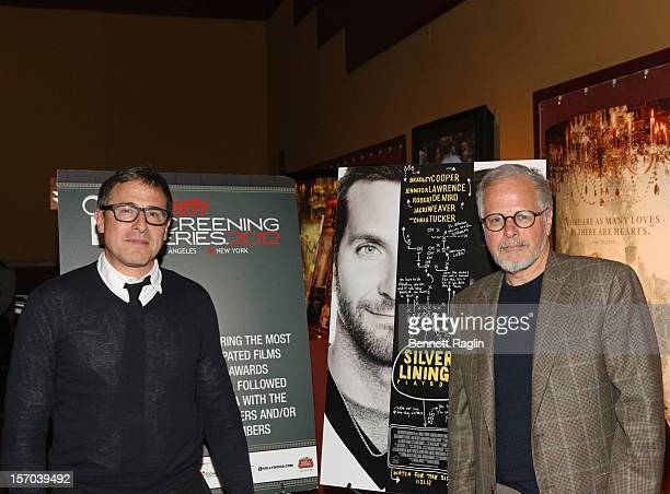 """Director David O. Russell and film editor Jay Cassidy attend the """"Silver Linings Playbook"""" screening during the 2012 Variety Screening Series at..."""