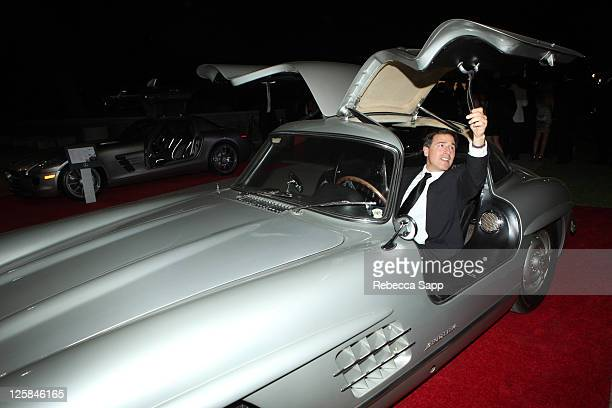 """Director David O. Russell arrives at The Art Of Elysium Fourth Annual Black Annual Black Tie Charity Gala """"Heaven"""" at the Annenberg Building on..."""