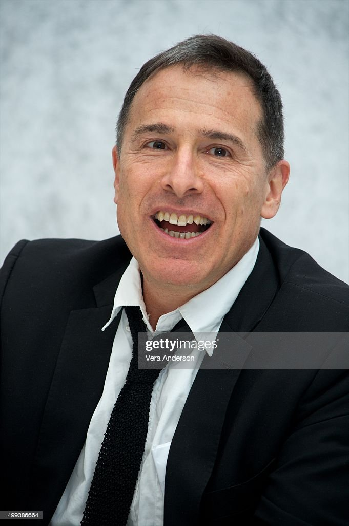 Director David O. Russell at the 'Joy' Press Conference at the InterContinental Hotel on November 29, 2015 in Century City, California.