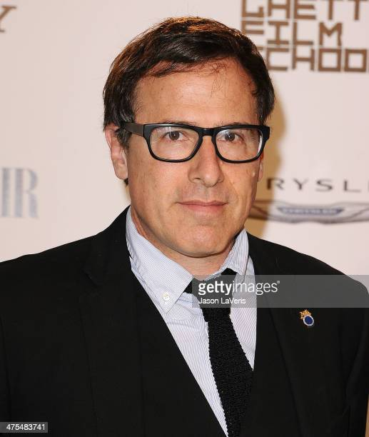 Director David O Russell attends the Vanity Fair Campaign Hollywood American Hustle toast at Ago Restaurant on February 27 2014 in West Hollywood...