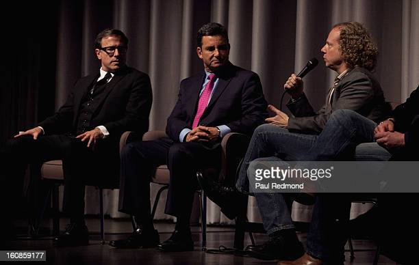 Director David O Russell Dr Bruce Hensel and producer Bruce Cohen speak at Museum Of Tolerance Town Hall Meeting With Silver Linings Playbook...