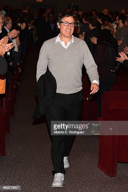Director David O Russell walks onstage at the 66th Annual Directors Guild of America Awards Feature Film Symposium held at Directors Guild Of America...