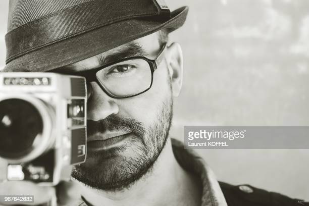 Director David Perrault during a portrait session at The 66th Annual Cannes Film Festival at the Palais des Festivals on May 22 2013 in Cannes France...