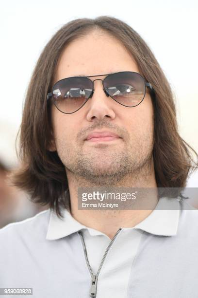 Director David Robert Mitchell attends Under The Silver Lake Photocall during the 71st annual Cannes Film Festival at Palais des Festivals on May 16...