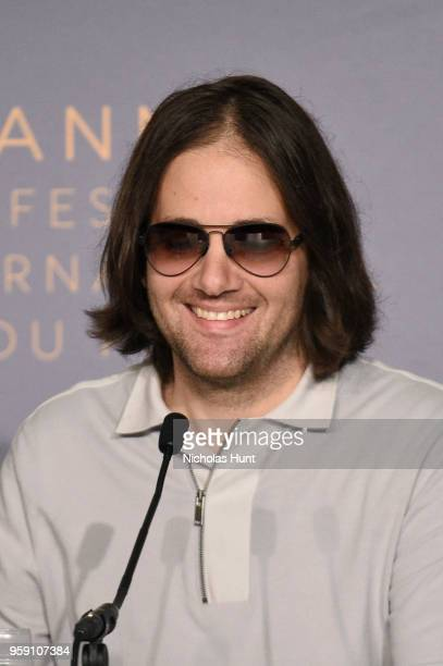 Director David Robert Mitchell attends 'Under The Silver Lake' Press Conference during the 71st annual Cannes Film Festival at Palais des Festivals...