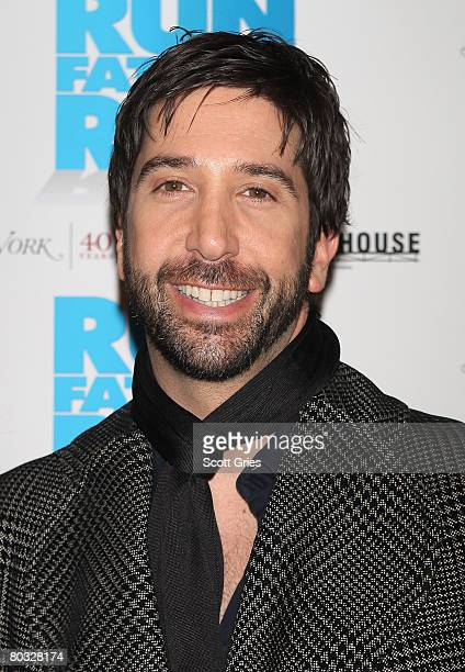 Director David Schwimmer attends the premiere of Run Fat Boy Run at the Tribeca Grand Screening Room March 20 2008 in New York City