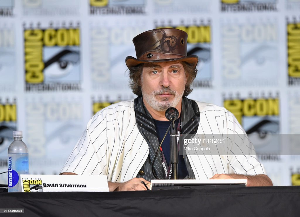 Director David Silverman attends 'The Simpsons' panel during Comic-Con International 2017 at San Diego Convention Center on July 22, 2017 in San Diego, California.