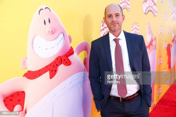 Director David Soren attends the premiere of 20th Century Fox's 'Captain Underpants The First Epic Movie' at Regency Village Theatre on May 21 2017...
