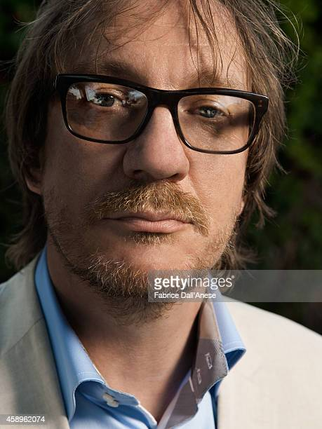 Director David Thewlis is photographed for Vanity Fair Italy on September 1 2013 in Venice Italy