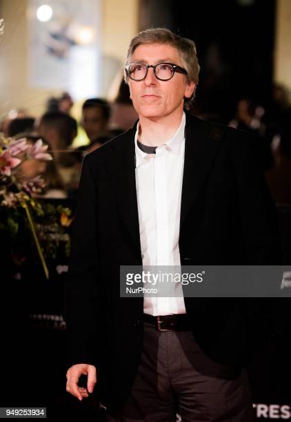 Director David Trueba attends 'Casi 40' premiere during the 21th Malaga Film Festival at the Cervantes Theater on April 20 2018 in Malaga Spain