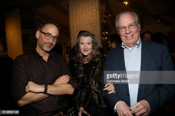 Director David Wain actors Annette O'Toole and Michael McKean attend the cast and crew screening of A Futile And Stupid Gesture hosted by EW and...