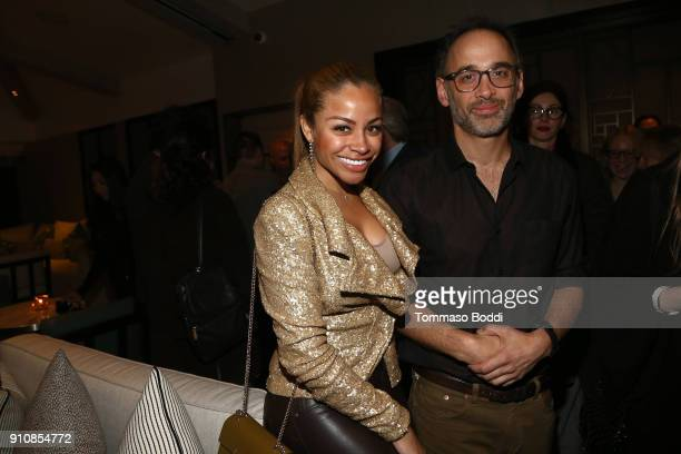 Director David Wain and singer Charisse Mills attend the cast and crew screening of 'A Futile And Stupid Gesture' hosted by EW and Netflix at The...