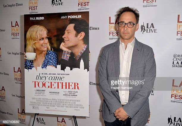 Director David Wain attends the premiere of 'They Came Together' during the 2014 Los Angeles Film Festival at Regal Cinemas LA Live on June 16 2014...