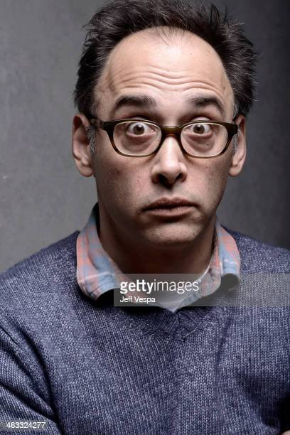 Director David Wain poses for a portrait during the 2014 Sundance Film Festival at the WireImage Portrait Studio at the Village At The Lift Presented...