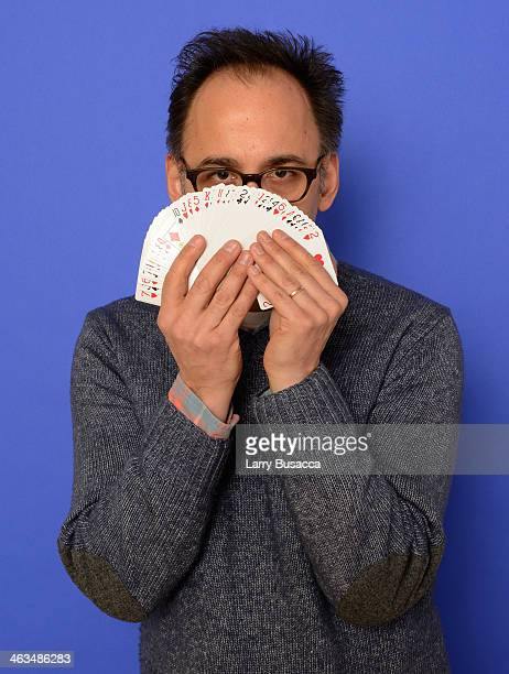 Director David Wain poses for a portrait during the 2014 Sundance Film Festival at the Getty Images Portrait Studio at the Village At The Lift...