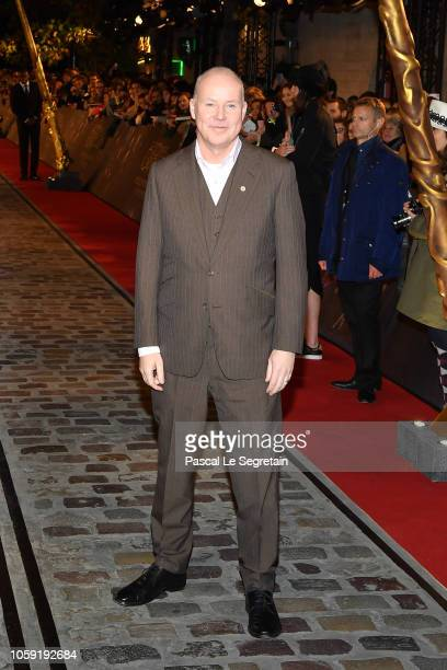 Director David Yates attends Fantastic Beasts The Crimes Of Grindelwald World Premiere at UGC Cine Cite Bercy on November 8 2018 in Paris France