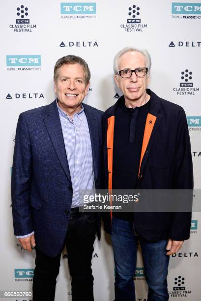 Director David Zucker and producer Jerry Zucker attend the screening of 'The Kentucky Fried Movie' during the 2017 TCM Classic Film Festival on April...