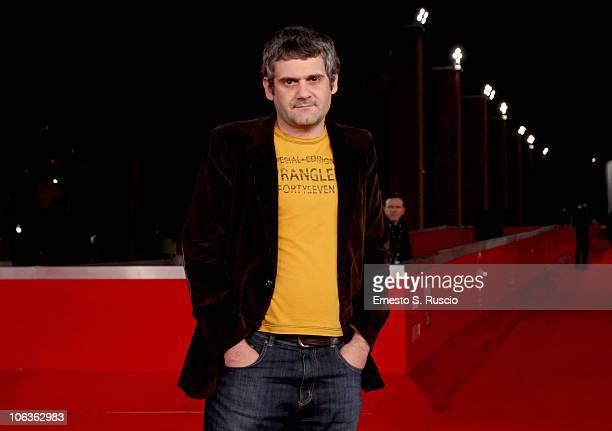 Director Davide Alfonsi attends the Ad Ogni Costo premiere during the 5th International Rome Film Festival at Auditorium Parco Della Musica on...