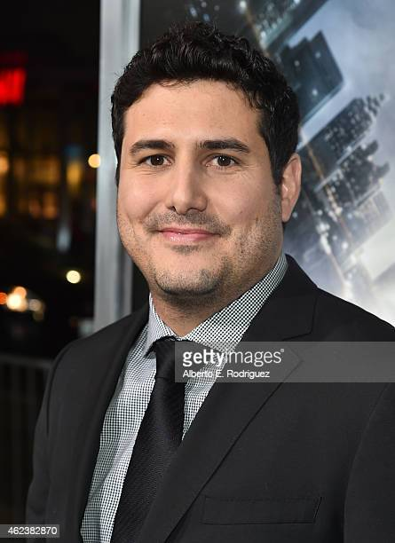 Director Dean Israelite attends the premiere of Paramount Pictures' Project Almanac at TCL Chinese Theatre on January 27 2015 in Hollywood California