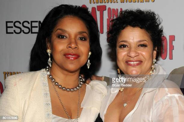 """Director Debbie Allen and actress Phylicia Rashad attend the after party for the opening of """"Cat On A Hot Tin Roof"""" Strata at on March 6, 2008 in New..."""