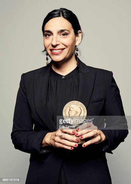 Director Deborah S Esquenazi is photographed at the 76th Annual Peabody Awards at Cipriani Wall Street on May 20 2017 in New York City