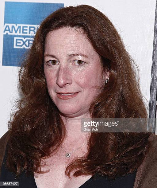 Director Deborah Scranton attends the Earth Made of Glass premiere during the 9th Annual Tribeca Film Festival at the Tribeca Performing Arts Center...