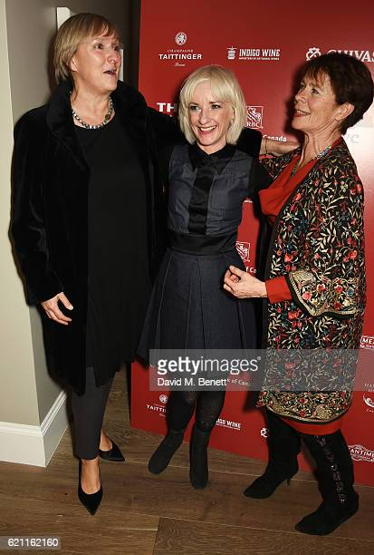Director Deborah Warner Jane Horrocks and Celia Imrie attend the press night after party celebrating The Old Vic's production of King Lear at the Ham...
