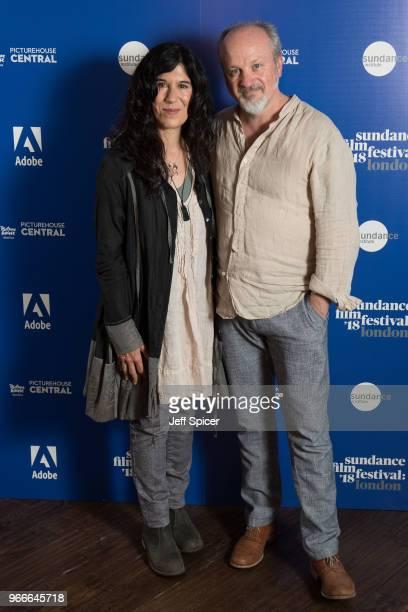 Director Debra Granik and cinematographer Michael McDonough attend the 2018 Sundance Film Festival screening of 'Leave No Trace' at Picturehouse...