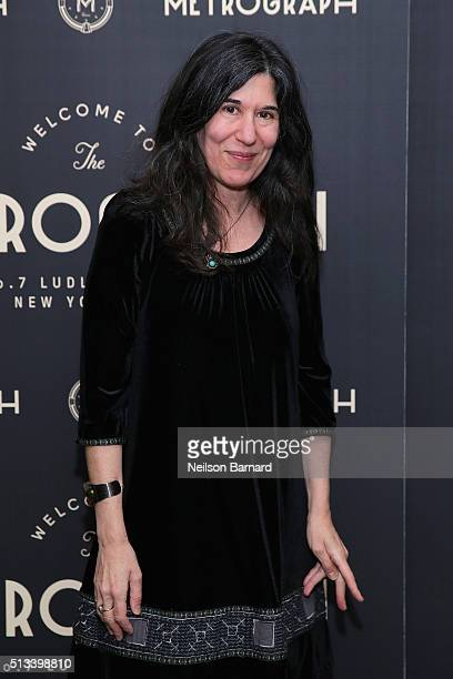 Director Debra Granik attends the Metrograph opening night at Metrograph on March 2 2016 in New York City