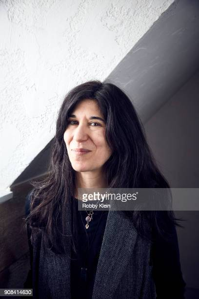 Director Debra Granik from the film 'Leave No Trace' poses for a portrait in the YouTube x Getty Images Portrait Studio at 2018 Sundance Film...