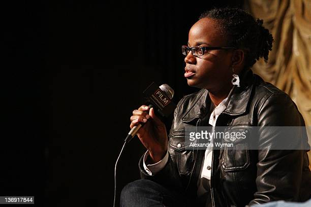 Director Dee Rees at Film Independent Screening Series 'Cassavetes' Shadow' held at The Bing Theatre At LACMA on January 12 2012 in Los Angeles...