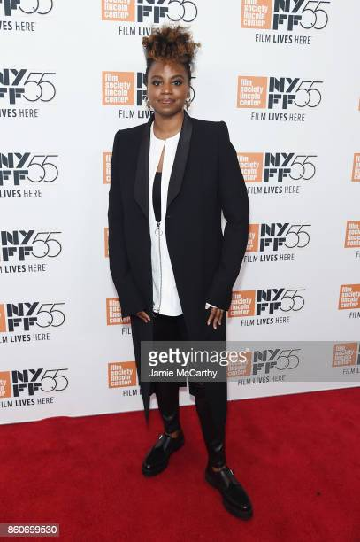 Director Dee Rees attends the 'Mudbound' premiere during the 55th New York Film Festival at Alice Tully Hall on October 12 2017 in New York City