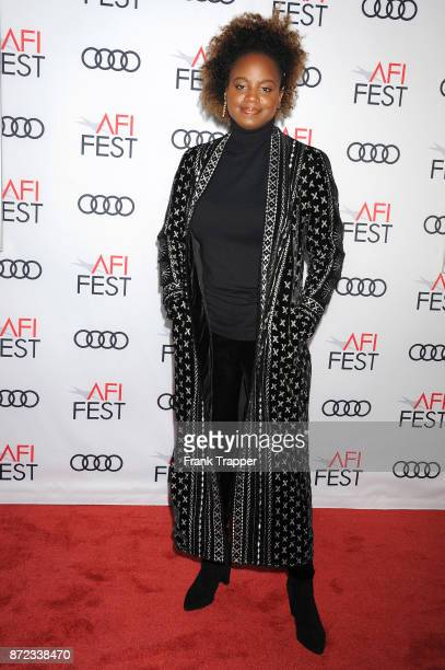 Director Dee Rees attends the screening of Netflix's Mudbound at the Opening Night Gala of AFI FEST 2017 Presented By Audi at TCL Chinese Theatre on...