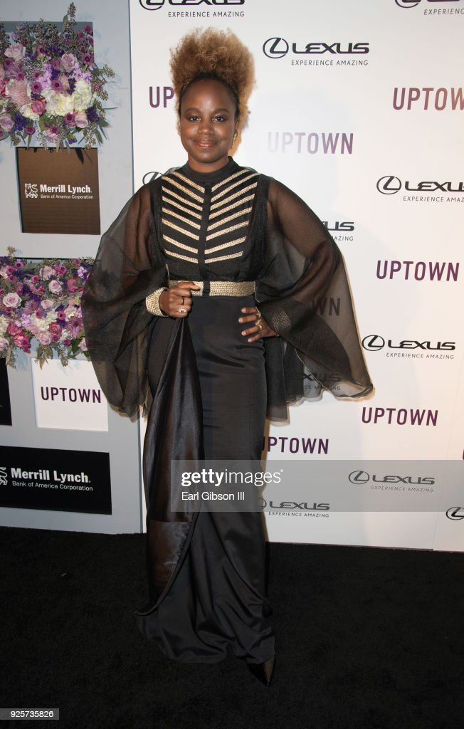 Director Dee Rees attends Uptown Honors Hollywood Pre-Oscar Gala on February 28, 2018 in Los Angeles, California.