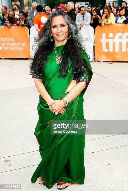 Director Deepa Mehta arrives at the Midnight's Children Premiere at the 2012 Toronto International Film Festival at Roy Thomson Hall on September 9...