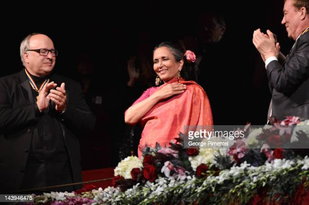 Director Deepa Mehta receives Lifetime Artistic Achievement Award at the Governor General's Performing Arts Awards 20th Anniversary Gala held at...